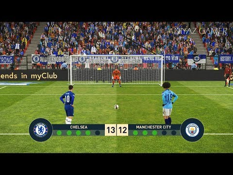 CHELSEA FC vs MANCHESTER CITY | Penalty Shootout | PES 2019 Gameplay PC Mp3