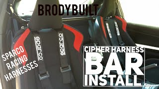 Scion FRS Cipher Harness Bar Install (Toyota GT86 Subaru BRZ)