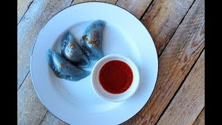 LIVE - How to Make Soon Kueh with Blue Flower Extract