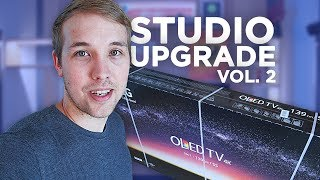 Studio upgrade - Montujeme novou OLED 4K TV [ VLOG ]