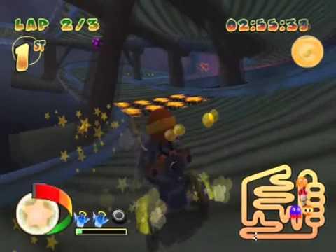 Pac-Man World Rally Music Swap #14 - Subterranean Speedway