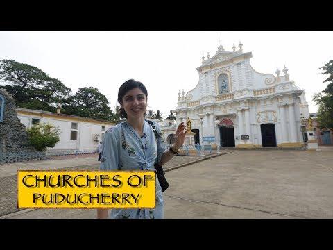 Churches Of Puducherry ⛪️