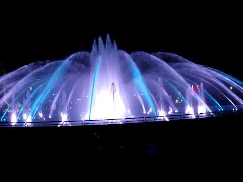 Friendship Fountain Night Static Display