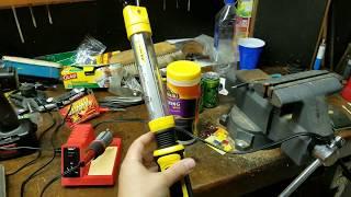 Stanley Flex Bar LED Light Battery Replacement Pt.1