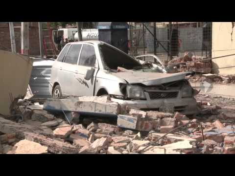 Portoviejo devastada por terremoto