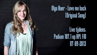 Olga Boer - Love me back (Original Song) (Live on RPL FM)