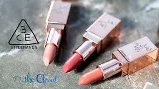 3CE x LILY MAYMAC MATTE LIP SWATCH| Hướng dẫn trang điểm phong cách Lily Maymac | Makeup Tutorial