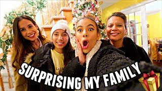 Surprising my Crazy Asian Family with a Christmas Gift!   Vlogmas Day 2
