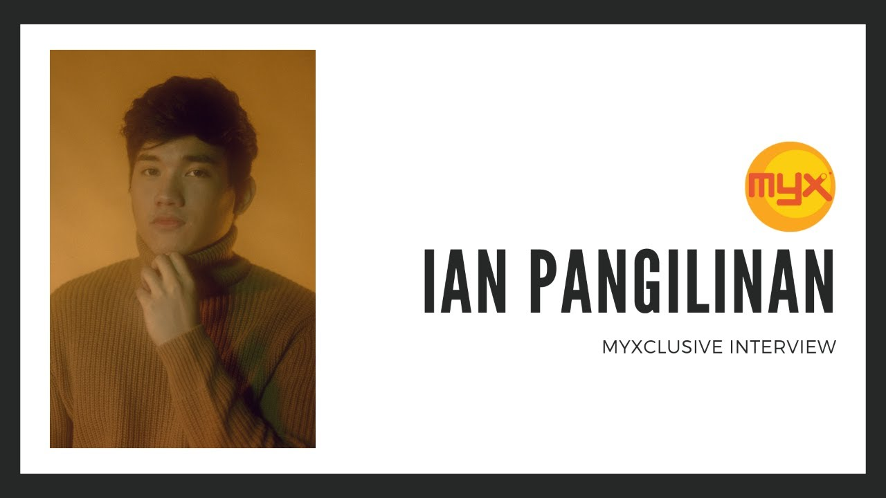 Ian Pangilinan on MYXclusive