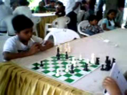 Kaustubha of Samanvitha Chess Academy