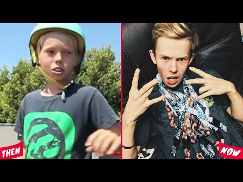 Thumbnail: Famous YouTubers Then And Now 2017 (Tanner Fox, PewDiePie, Rocco Piazza)