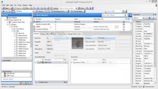 Vault Professional BOM management video