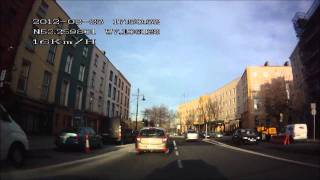 DOD GS600 GPS dash cam Waterford Ireland Thursday 23 02 2012 in the City