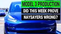 Did Tesla Model 3 Production Prove Naysayers Wrong This Week?