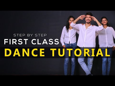 First Class Dance Tutorial  Step By Step  Kalank Vicky Patel Choreography Varun dhawan