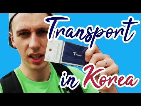 How To Travel In Korea: Buying and Using a Tmoney card - Korea How To [Ep.1]