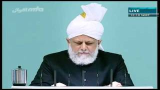 (Urdu) Friday Sermon 01/10/2010 Part 1/4