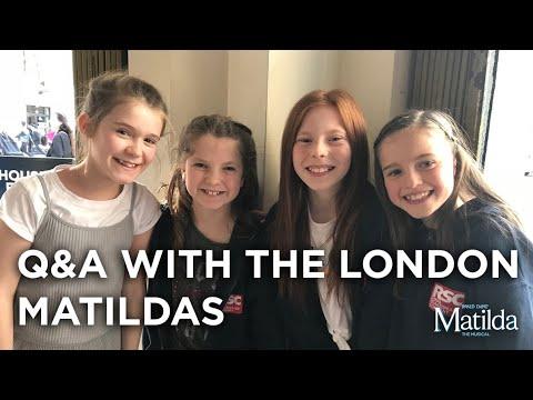 Meet The Matildas | May 2018 | Matilda The Musical