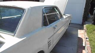 1966 Ford Mustang Coupe 289 inspection