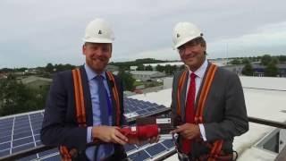 Bouwbedrijf Lont - Installeren zonnepanelen met Maxime Verhagen