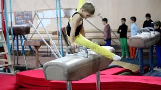 Каюк Віктор, 2й клас, 8 років. Спортивна гімнастика