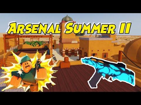 Arsenal Summer Ii Epic Update Roblox Youtube