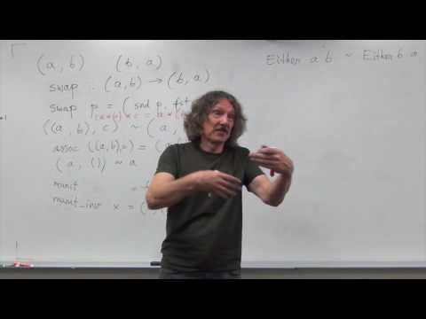 Category Theory 5.2: Algebraic data types