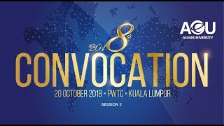 AeU 8th Convocation 2018 Session 2