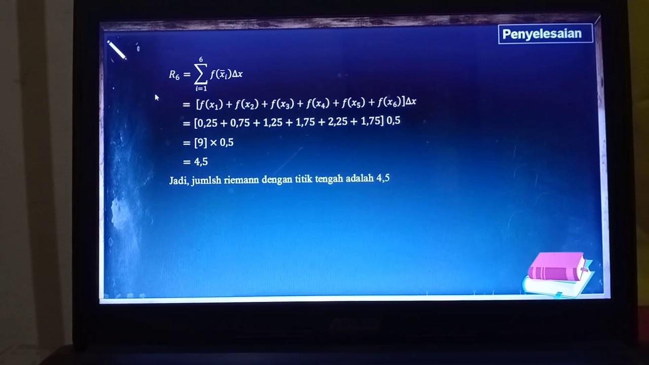 Video Pembelajaran Jumlah Riemann - YouTube