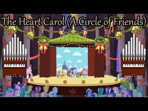 The Heart Carol (A Circle of Friends) Organ Cover