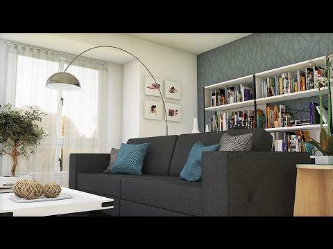 Dise o interior apartamento 75 m2 espacios personales for Diseno interior de departamentos pequenos