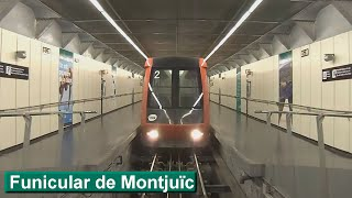 Funicular de Montjuïc: Paral·lel - Parc de Montjuïc (TMB Barcelona)