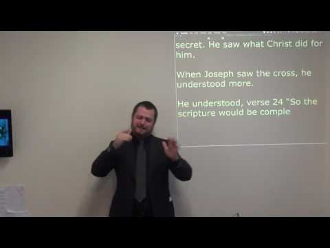 The Necessity Of Seeing The Cross' (BSL) - John Chapter 19 verse 31 - Sunday Morning Teaching