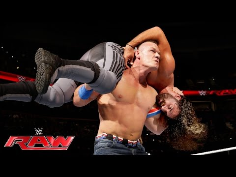John Cena vs. Seth Rollins: Raw, June 27, 2016