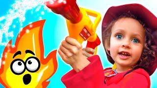 Детская песня-Пожарные. Песни для детей про пожарников