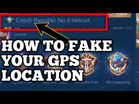 HOW TO FAKE YOUR GPS - MOBILE LEGENDS