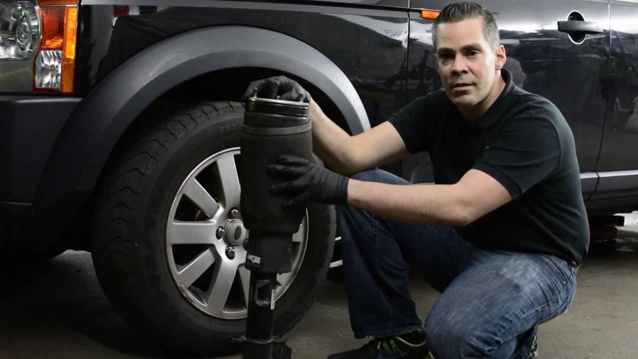 Land Rover & Range Rover Common Failure: Air Suspension  YouTube