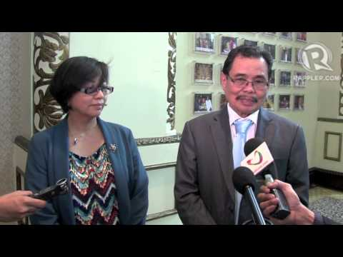 Joint interview - Miriam Coronel Ferrer and Mohagher Iqbal