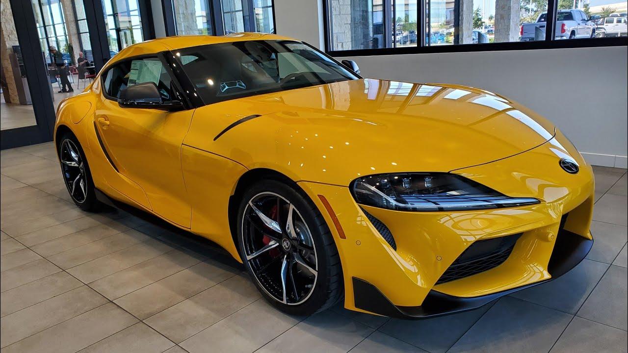 2020 Toyota Supra Nitro Yellow