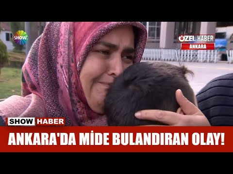 Download Ankara'da mide bulandıran olay!