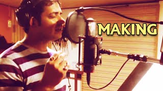 Swapnil Bandodkar singing Shivraya - Song Making - What About Savarkar Marathi Movie