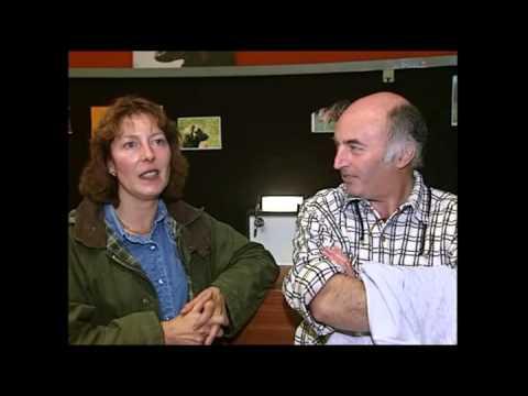 Reportage sur le leonberg à Cluny en 2000