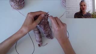 Вяжем Перчатки спицами | Анатомический расчет пальцев  | Часть 2