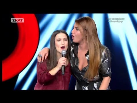 The Voice of Greece 4 - Blind Audition - AN ME DEIS NA KLAIO - Georgia Daveta