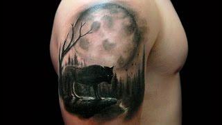 Татуировки с луной