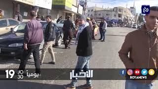 تجار إربد يغلقون محلاتهم تنديدا لقرار إعلان أمريكا القدس عاصمة للاحتلال - (7-12-2017)