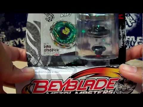 Beyblade Metal Masters - Ray Striker/Unicorno D125CS unboxing