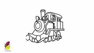 Chuggington Drawing - How to draw Chuggington