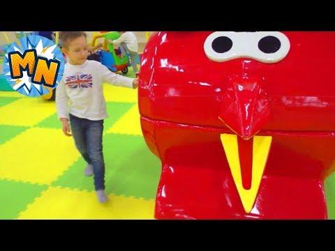 Самые Весёлые ДЕТСКИЕ  ПЛОЩАДКИ Outdoor Playground and entertainment for kids, 3 серии подряд обзор