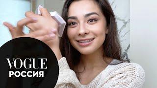 Диана Коркунова показывает идеальный дневной и вечерний макияж Vogue Россия